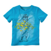 Carter's® Short-Sleeve Scuba Tee - Preschool Boys 4-7