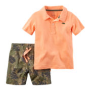 Carter's® 2-pc. Shirt and Shorts Set - Toddler Boys 2t-5t