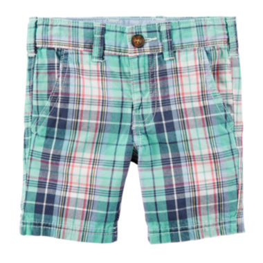 jcpenney.com | Carter's® Plaid Shorts - Preschool Boys 4-7