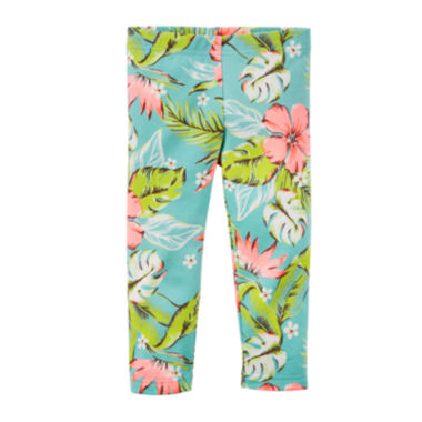 jcpenney.com | Carter's® Tropical Capri Leggings - Preschool Girls 4-7