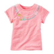Carter's® Short-Sleeve Pink Lai Tee - Preschool Girls 4-7