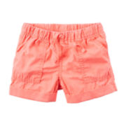 Carter's® Peach Drawstring Shorts - Preschool Girls 4-7