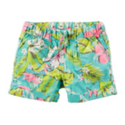 Carter's® Tropical Print Shorts - Preschool Girls 4-7