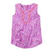 Carter's® Sleeveless Print Tunic - Preschool Girls 4-7