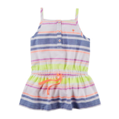 jcpenney.com | Carter's® Sleeveless Striped Tunic - Preschool Girls 4-7