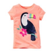 Carter's® Short-Sleeve Toucan Graphic Tee - Preschool Girls 4-6x