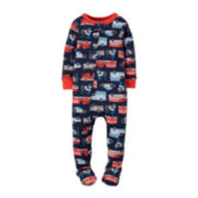 Carter's® Fire Truck Footed Pajamas - Baby Boys newborn-24m