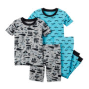 Carter's® Pirate 4-pc. Pajama Set - Toddler Boys 2t-5t