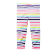Carter's® Striped Capri Leggings – Preschool Girls 4-6x