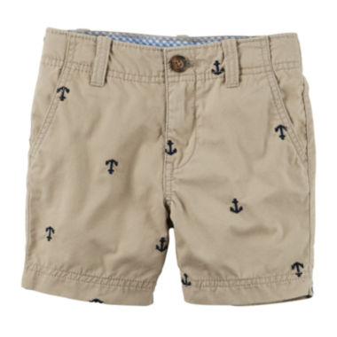 jcpenney.com | Carter's® Print Cargo Shorts - Toddler Boys 2t-5t