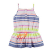 Carter's® Sleeveless Striped Tunic – Toddler Girls 2t-5t