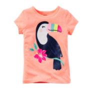Carter's® Short-Sleeve Toucan Tee - Toddler Girls 2t-5t