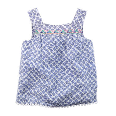 jcpenney.com | Carter's® Sleeveless Geo Top - Toddler Girls 2t-5t