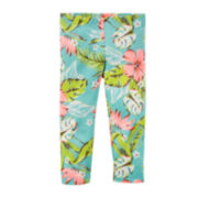 Carter's® Tropical Print Capri Leggings - Toddler Girls 2t-5t