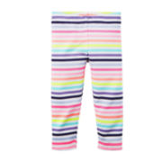 Carter's® Striped Capri Leggings - Toddler Girls 2t-5t