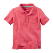 Carter's® Short-Sleeve Polo Shirt - Toddler Boys 2t-5t