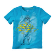 Carter's® Short-Sleeve Scuba Tee - Toddler Boys 2t-5t