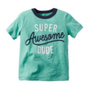 Carter's® Short-Sleeve Dude Tee - Toddler Boys 2t-5t