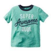 Carter's® Short-Sleeve Dude Tee - Toddler Boys 2t-5t