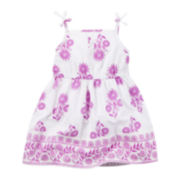 Carter's® Sleeveless Print Dress - Baby Girls newborn-24m