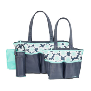 jcpenney.com | Carter's® 5-in-1 Floral Diaper Bag