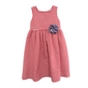 Marmellata Sleeveless Striped Sundress - Toddler Girls 2t-4t