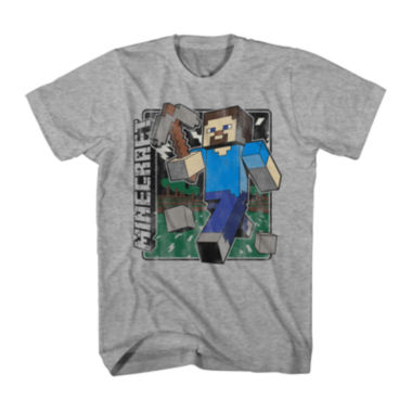 jcpenney.com | Minecraft Vintage Graphic Tee - Boys 8-20
