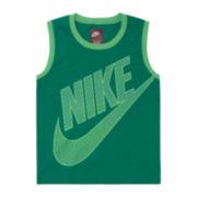 Nike® Logo Tank Top - Preschool Boys 4-7