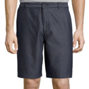 Claiborne® Relaxed-Fit Pindot Shorts