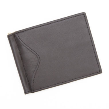 jcpenney.com | Royce® Cash Clip Leather Wallet with Outside Pocket