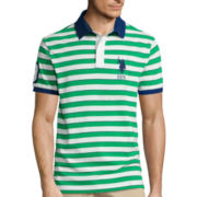 U.S. Polo Assn.® Short-Sleeve Striped Polo