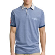 U.S. Polo Assn.® Short-Sleeve Two-Tone Pique Polo