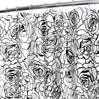 jcpenney.com | Park B. Smith® Cabbage Rose Watershed™ Shower Curtain