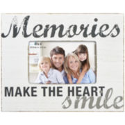 "Harbortown Memories 4x6"" Rustic Picture Frame"