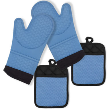 jcpenney.com | Popular Bath 4-pk. Oven Mitts and Pot Holders