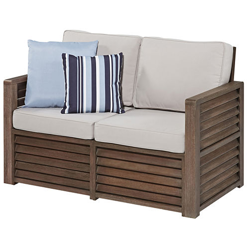 Wayne Love Seat with Accent Pillows