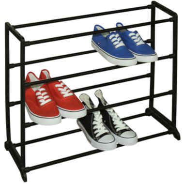 jcpenney.com | Sunbeam® 12-Pair Shoe Rack