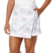 PGA Tour Golf Floral-Print Airbushed Performance Skort