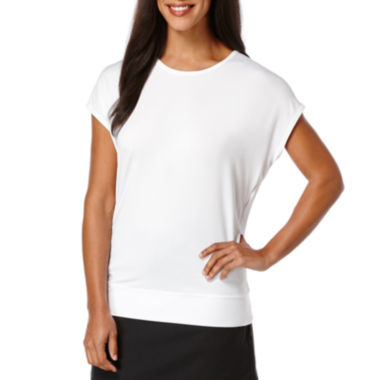 jcpenney.com | PGA TOUR® Short-Sleeve Open Back Performance Tee
