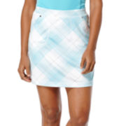 PGA Tour Golf Retro Plaid Skort