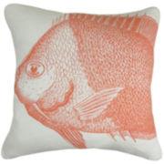 Park B. Smith® Fish Figure Decorative Pillow
