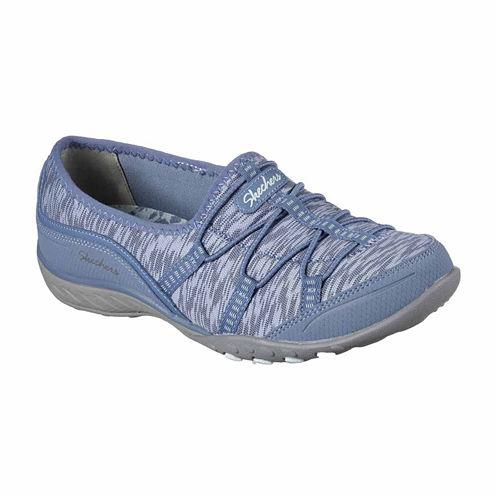 Skechers Breathe Easy Golden Womens Sneakers