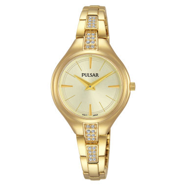 jcpenney.com | Pulsar Womens Gold Tone Bracelet Watch-Pm2242