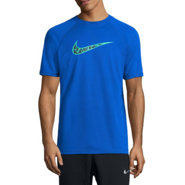 jcpenney.com | Nike Convert Swoosh Swim Tee 40+ UPF Protection