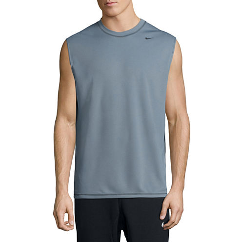Nike Solid Sleeveless Swim Tee 40+ UPF Protection