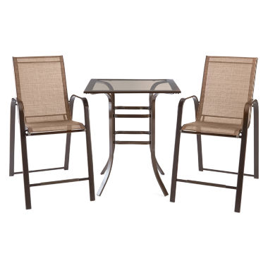 jcpenney.com | Outdoor Oasis™ Newberry 3pc Counter Height Set