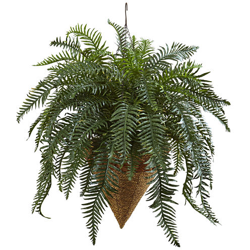 "33"" Giant River Fern Artificial Plant"