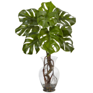 "jcpenney.com | 26"" Monstera Artificial Plant"
