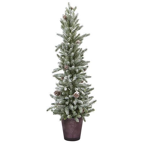 "21"" Snowy Pine Tree"