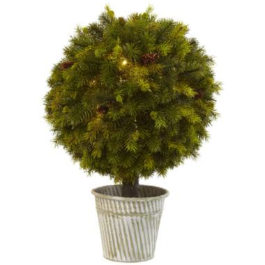 "jcpenney.com | 23"" Pine Ball Artificial Plant"